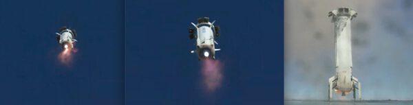 Let a přistání New Shepardu