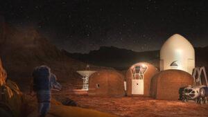 Představa obydlí na Marsu podle týmu Zopherus.