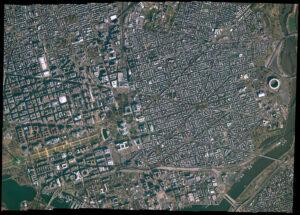 Snímek Washingtonu DC pořízený satelitem firmy Satellogic v roce 2018.