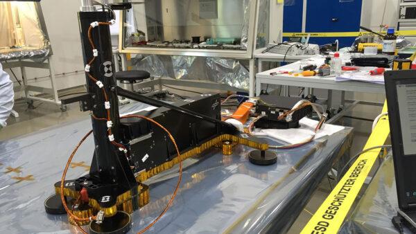 HP3 při testech na Zemi