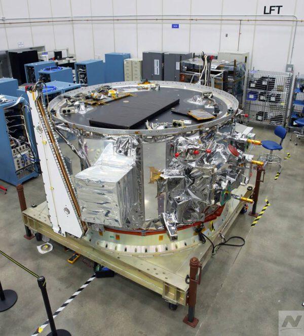 Servisní modul lodi Cygnus pro misi NG-11.