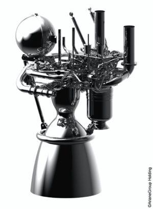 Vizualizace motoru Prometheus na začátku roku 2019.
