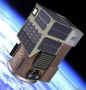 Vizualizace družice ÑuSat