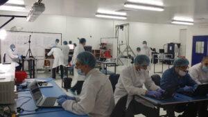 Výrobní areál firmy Satellogic