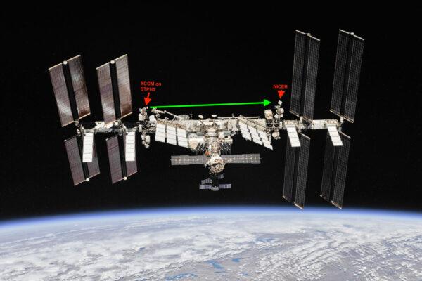 Rentgenové paprsky urazí při experimentu vzdálenost cca. 50 metrů od vysílače k přijímači.