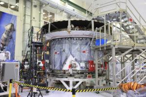 Servisní modul Orionu, 21. března