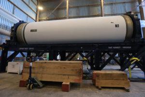 Motor SR-118 pro test AA-2 v budově RPSF, 29. ledna