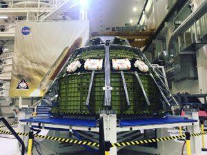 Modul pro posádku Orionu pro misi EM-2, březen