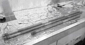 Jádrové vrtáky z mise Apollo 17 - byly zapečetěny ještě na Měsíci.