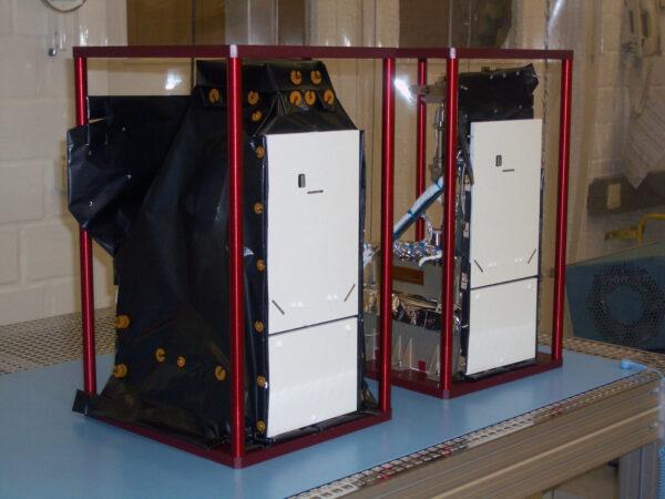 Letuschopné kamery AFC uložené v ochranné dusíkové atmosféře.