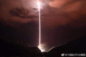 Start rakety CZ-3B/G2