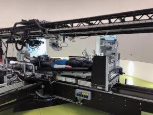Short-Arm Human Centrifuge (SAHC) v laboratoři německé kosmické agentury.