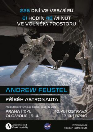 Příběh astronauta - Andrew Feustel v České republice