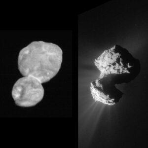 Ultima Thule a kometa 67P