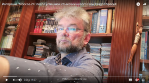 Vadim Lukaševič při interview