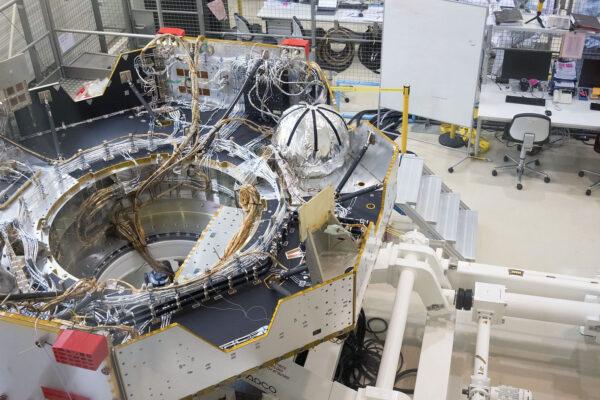 Letový exemplář přeletového modulu mise ExoMars 2020.