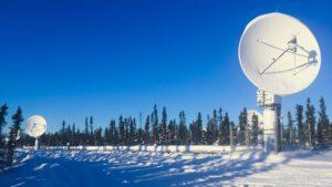Pozemní satelitní stanice Inuvik