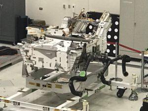 Aktuální stav samotného roveru