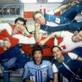 Sovětsko-rakousko-kazašská posádka stanice Mir - říjen 1991