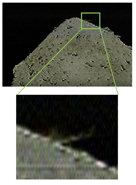 Kamera DCAM3 pořídila tento snímek 5. dubna ve 4:36 SELČ,