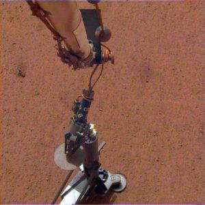 Přístroj HP3 na Marsu
