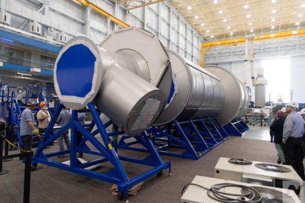 Pozemní prototyp obytného modulu od Northrop Grumman v JSC