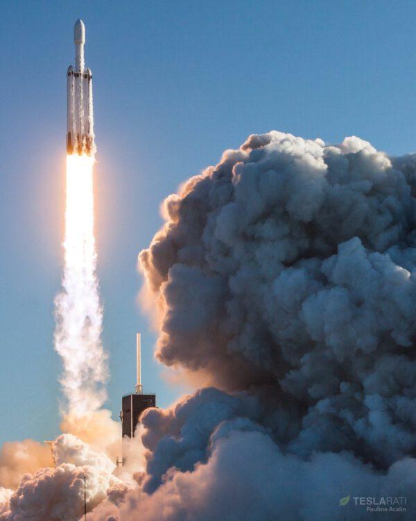 Falcon Heavy - Arabsat 6A - Pauline Acalin