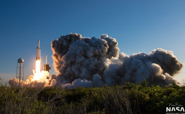 Falcon Heavy - Arabsat 6A - Nathan Barker