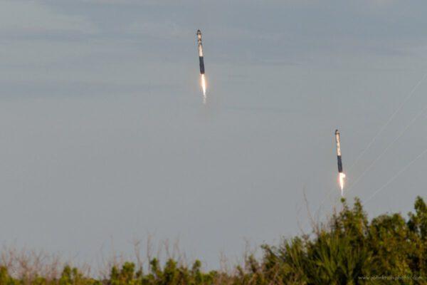 Falcon Heavy - Arabsat 6A - John Kraus