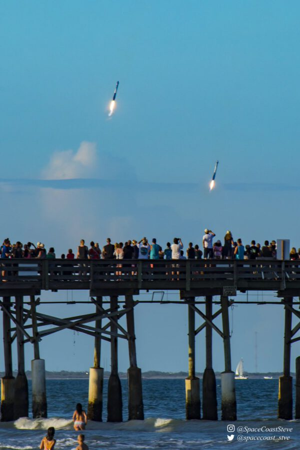 Falcon Heavy - Arabsat 6A - Stephen Marr
