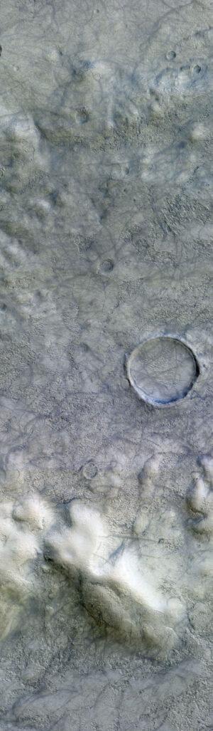 4. ledna 2019 vyfotila kamera CaSSIS oblast severovýchodně od kráteru Copernicus. Snímek pokrývá oblast o rozměrech 7 × 31 kilometrů a je na něm zachycen vzdušný vír.