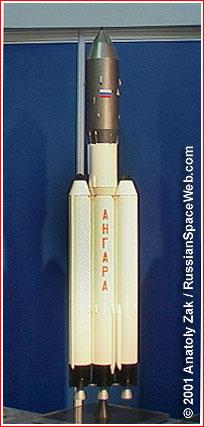 Model Angary 3 z roku 2001.