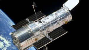 Hubbleův kosmický teleskop – legendární observatoř s nejasnou budoucností.