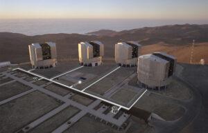 Dvojplanetku Didymos sledoval i Very Large Telescope.