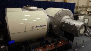 Prototyp obytného modulu Boeingu