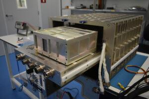 SpectroDemo během zkoušek rozhraní