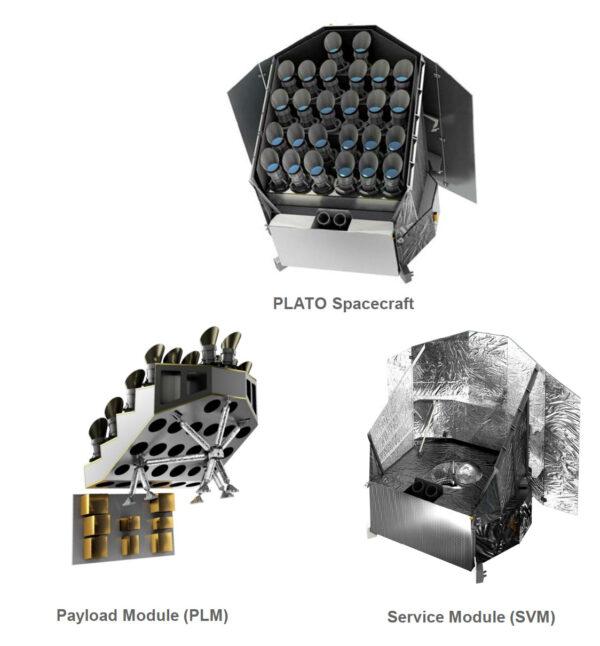 Konstrukce sondy PLATO