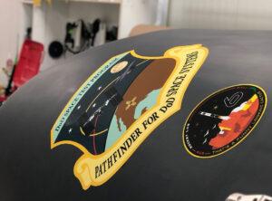 Aerodynamický kryt rakety Electron na misi STP-27RD