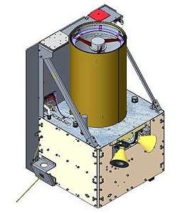 Vizualizace družice BlackSky Global 4, která poslouží ke snímkování Země.