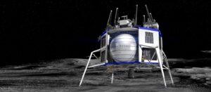 Nákladní lander pro Měsíc od Blue Origin
