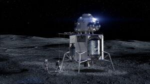 Prodloužená verze landeru Blue Moon vybavená vzletovým stupněm by mohla dopravovat na Měsíci i astronauty.