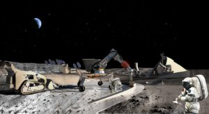 Nejen na Měsíci bude třeba budovat přístřešky. Pomohou s tím roboti a 3D tiskárny
