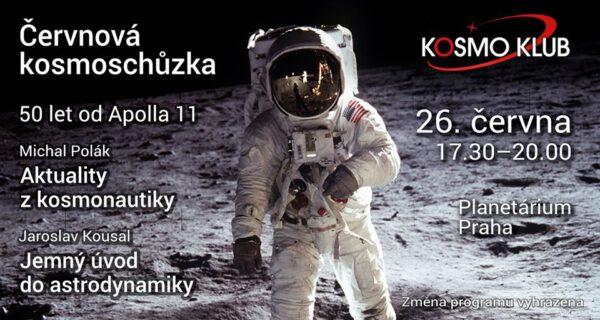 Pozvánka na červnovou kosmoschůzku zdroj: facebook.com