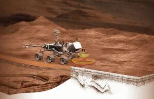 Přístroj RIMFAX nahlédne pod povrch Marsu.