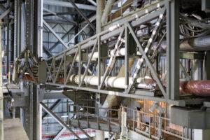 V únoru 2019 proběhlo zkušební vyklápění ramene CSITU (Core Stage Inter-Tank Umbilical).