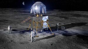 Po Lockheedu a Blue Origin odhalil svoji koncepci landeru i Boeing (viz obrázek). Na základě smlouvy s NASA zpracovávají studie sestupového modulu landeru i Dynetics, Northrop Grumman Innovation Systems, Sierra Nevada Corporation a SpaceX. Ve hře je i Masten Space Systems.