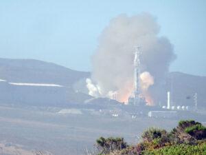 Statický zážeh Falconu 9 před misí Radarsat