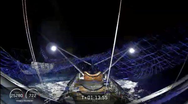 Aerodynamický kryt v síti lodi GO Ms Tree