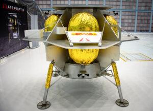 Peregrine - lander firmy Astrobotic