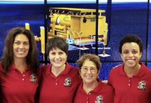 Posádka mise NEEMO 23 je čistě ženská.